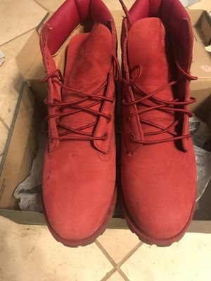 Red Timberlands for Sale in Tacoma, WA