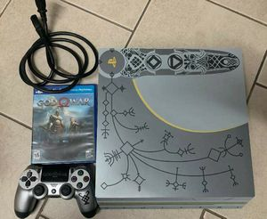 SONY PS4 Pro God of War limited Edition for Sale in Gaithersburg, MD