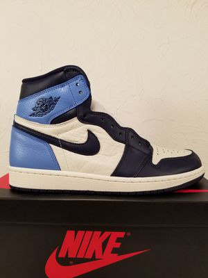 Air Jordan 1 Retro High Og Obsidian UNC Men's Size 8.5 for Sale in Anaheim, CA