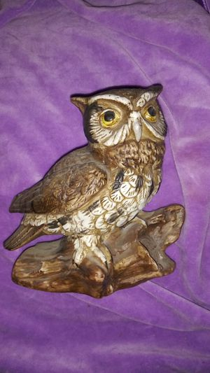 Vintage Homeco Ceramic Owl for Sale in Norco, CA