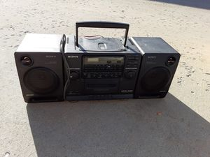 Sony boombox for Sale in Colorado Springs, CO