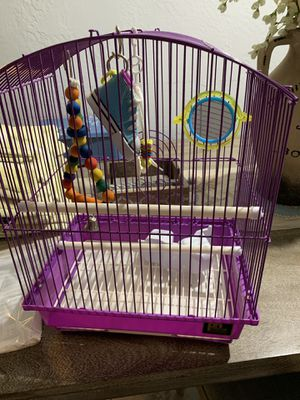 New Bird cage with toys for Sale in Indian Creek, FL