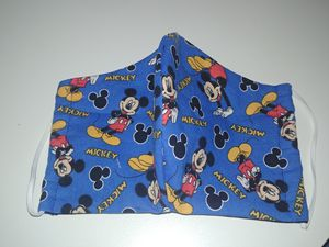 Mickey mouse explosion 3 layer cotton mask for Sale in Cuyahoga Falls, OH