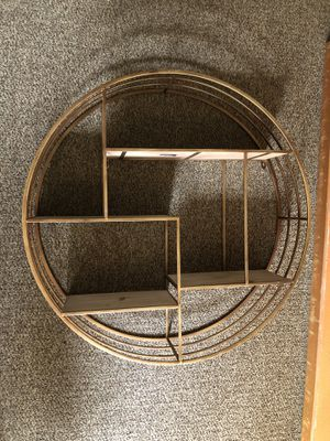 Circle Wall shelf for Sale in Portland, OR