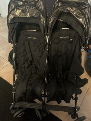 Maclaren Stroller double for Sale in Hialeah, FL