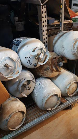 Propane tanks empty for Sale in Tulsa, OK