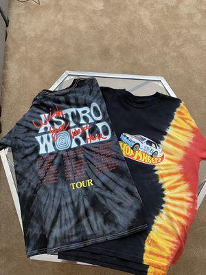Travis Scott Astroworld Bundle Tees Jackboys for Sale in Brentwood, CA