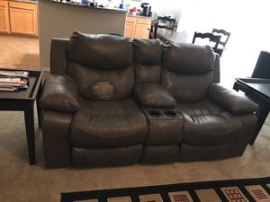 Leather couches for Sale in Waddell, AZ