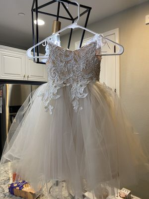 Flower Girl Dress, Ivory - 2T and 3T - NEW for Sale in Manteca, CA