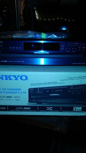 Onkyo 6 cd changer with remote and cable for Sale in Clearwater, FL