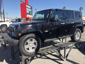 2008 Jeep Wrangler Sahara Payments ok $500 down for Sale in Las Vegas, NV