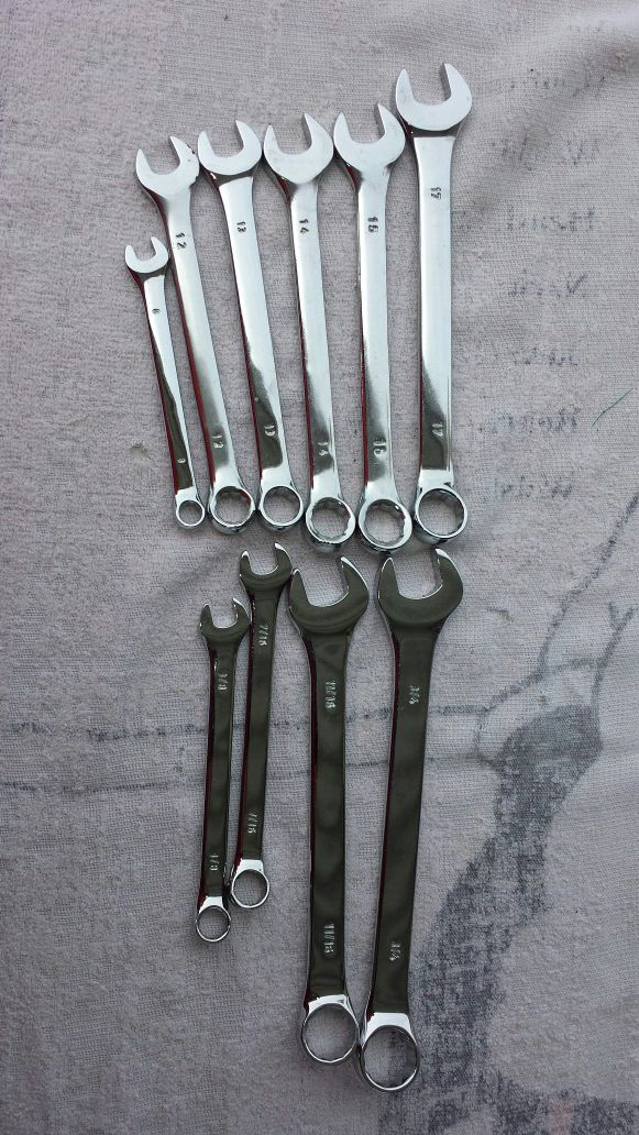 BOX & OPEN END WRENCHES