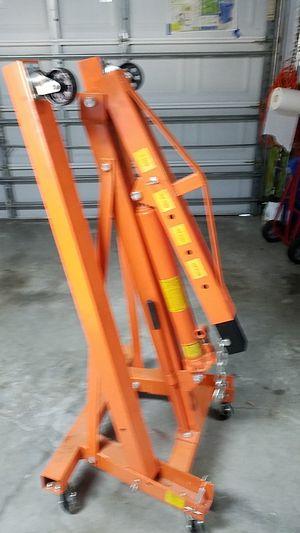 1 ton engine crane. for Sale in Lithia, FL