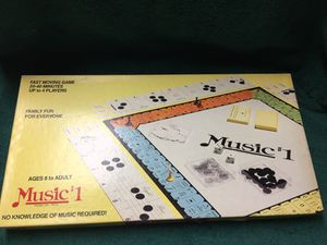Vintage music #1 board game new. 1984 for Sale in Dearborn, MI