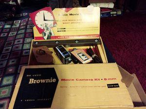 Kodak Brownie 8mm movie camera kit for Sale in Roseville, CA