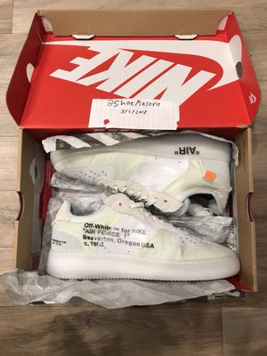 OFF WHITE x NIKE Air Force 1 for Sale in Los Angeles, CA