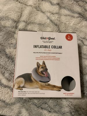 INFLATABLE DOG COLLAR for Sale in Pasadena, CA