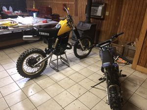 YZ 490 & 125cc pit bike for Sale in Silver Spring, MD