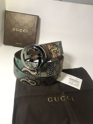 Gucci Brown GG Feline/Floral Belt **XMAS SALE!! for Sale in Queens, NY