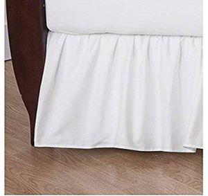 White Ruffled crib sheet for Sale in Brooklyn, NY