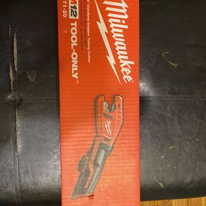 Milwaukee M12 Cordless Copper Tubing Cutter for Sale in Los Angeles, CA