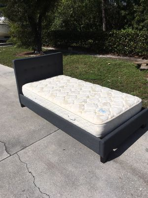 Twin Mattress & Bed Frame DELIVERY AVAILABLE 🚗 for Sale in Bonita Springs, FL