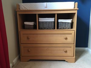 Baby changing table with drawers for Sale in Centreville, VA
