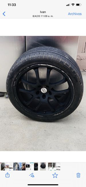 4 Rims infinity 2003 for Sale in Irwindale, CA
