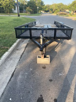 6x20 double axle home made trailer for Sale in Port Lavaca, TX