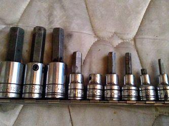SK Tools Hex Bit Socket Set for Sale in Lynwood,  CA
