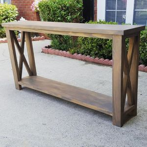 CUSTOM FARMHOUSE ENTRY TABLE for Sale in Buford, GA