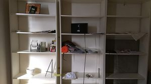 3 Ikea white bookshelves for sale for Sale in Brooklyn, NY
