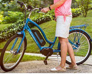 """New!! Bike, electric bike, 7 speeds 26"""" wheels unisex electric bike, women's bike, male's bike bicycle , blue for Sale in Phoenix, AZ"""