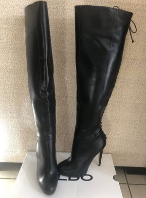 Aldo thigh high boots size 6.5 for Sale in Palmdale, CA