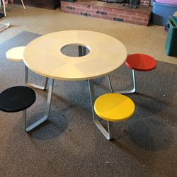 Rare Vintage 1985 Official Lego 5 Seater Play Table for Sale in Troutdale,  OR