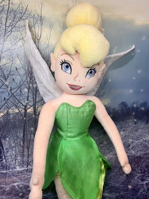 "Disney LARGE Tinker bell plush doll approximately 24"" for Sale in Bellflower, CA"