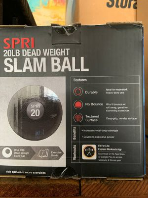 Fitness Slam Ball for Sale in Arcadia, CA