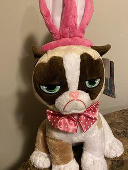 "Grumpy Cat Polka Dot Easter Bunny Ears 17"" Plush for Sale in Providence,  RI"