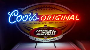 Coors Monday Night Football 35th Anniversary Neon for Sale in Seattle, WA