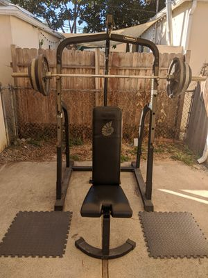 Nautilus Rack weight set for Sale in Los Angeles, CA