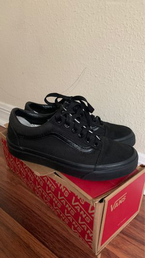 Black Vans for Sale in Kissimmee, FL