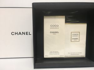 COCO MADEMOISELLE INTENSE BY CHANEL PERFUME FOR WOMEN SPRAY 2PC GIFT SET 3.4 OZ + 6.8 OZ B/L NEW IN BOX for Sale in Arlington, TX