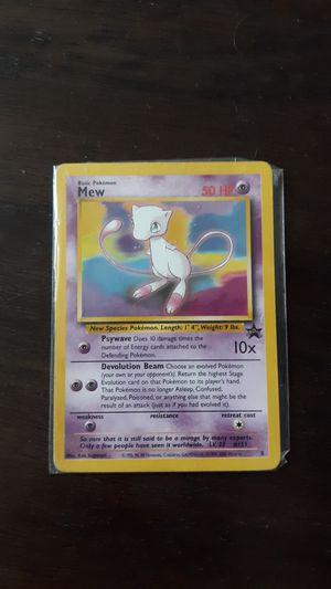Rare Pokemon 1995 Mew promo card for Sale in Greensboro, NC