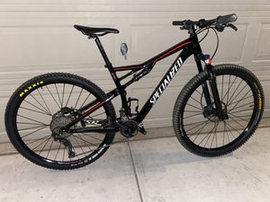 2017 specialized fsr comp 29er large mountain bike maxxis , disc , rock shox, fox for Sale in Henderson, NV