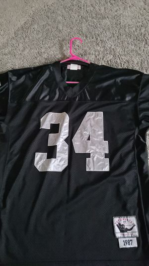 Raiders Jackson throw back jersey Mens larger size. for Sale in Arvada, CO