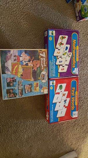 Large lot of kids games and puzzles for Sale in Phoenix, AZ