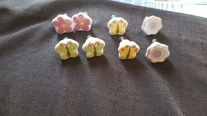 Porcelain hand painted drawer knobs for a project for Sale in Dinuba, CA