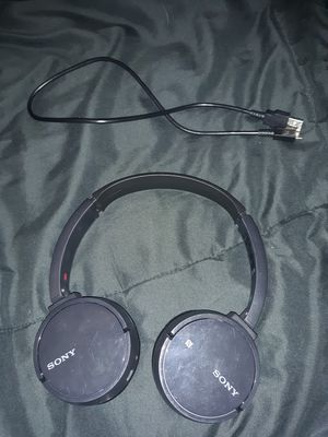 Sony Headphones w/charger for Sale in Benton, ME
