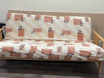 Wood Framed Futon -hardly Used for Sale in Queens,  NY