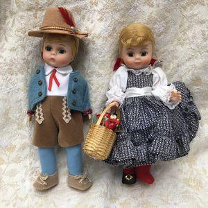 Madam Alexander Austria Boy and Nancy Dawson Dolls for Sale in Hooksett, NH